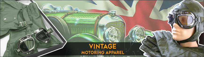 Vintage Motoring Apparel
