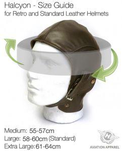Bugatti Blue Leather Helmet
