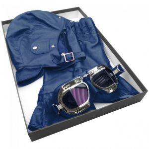 Halcyon Leather Box Set - Bugatti Blue