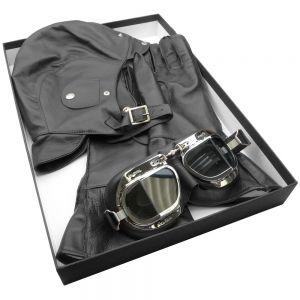Halcyon Leather Box Set -Black