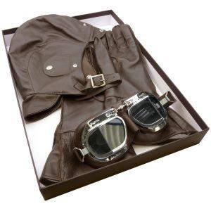 Halcyon Leather Box Set -Brown