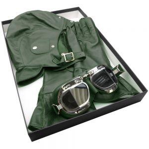 Halcyon Leather Box Set -Green