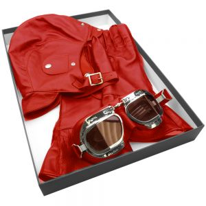 Halcyon Leather Box Set -Red