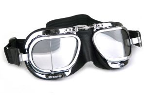 Compact Deluxe Goggles - Black PVC