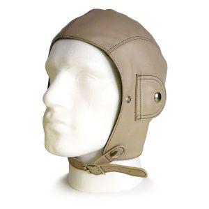 Retro Stone Leather Helmet