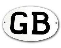 "Halcyon 410 Oval GB Plate (7"" x 5"")"