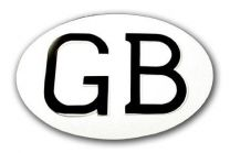 "Halcyon 430 Oval GB Plate (7"" x 5"")"