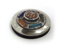 50th Anniversary of Mini Edition Tax Disc Holder