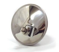 Round Replacement Mirror head for a Halcyon Handle Bar and bar End Mirror