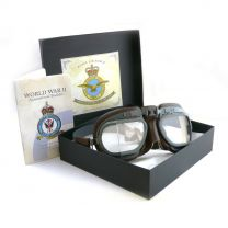 Halcyon WW2 Bomber Command RAF Replica Pilot Goggles
