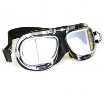 Compact Mark 49 Goggles - Black with Chamois Leather