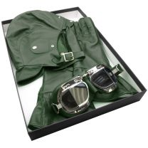 Green Leather Halcyon Box-Set