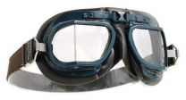 Halcyon Mark 8 RAF Brown Aviator Goggles