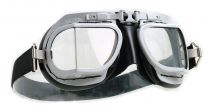 Halcyon Mark 8 Rider Black Motorcycle Goggles