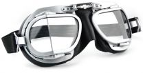 Halcyon Mark 9 Rider Black Motorcycle Goggles