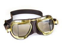 Halcyon Steampunk Goggles - Synthetic Leather