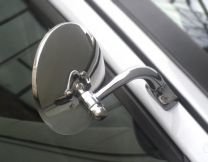 The Halcyon Universal Door Mounted Classic Car Mirror