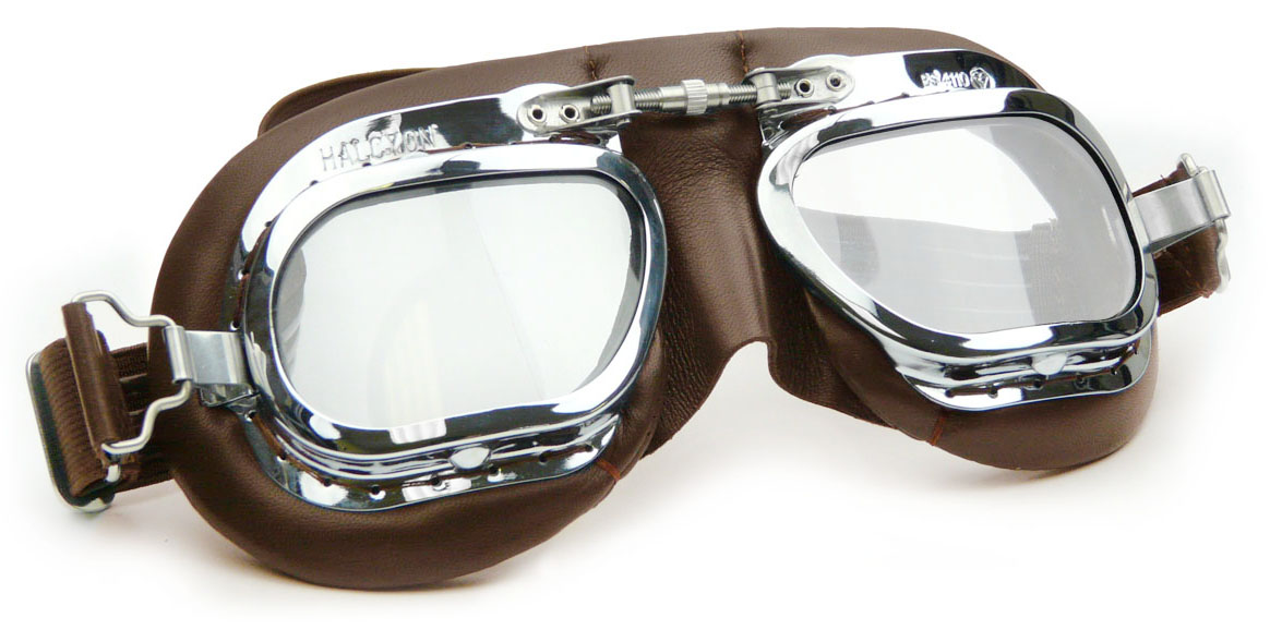 Mark 410 Curved Racing Goggles